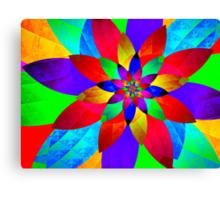 Sparkling Colors of Light Canvas Print