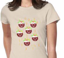 Hot Christmas Puddings T SHIRT/ART Womens Fitted T-Shirt