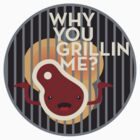why you grillin me? by bobobirdsinc