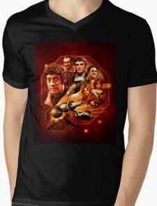 Blake's 7 Series 1 Montage Mens V-Neck T-Shirt