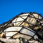 Netted Floats by m E Grayson