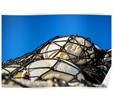 Netted Floats Poster