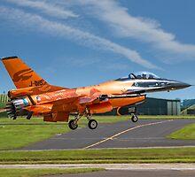 Fokker F-16AM Fighting Falcon J-015 by Colin Smedley