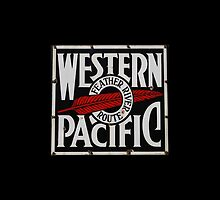 Western Pacific Railroad iPad, iPhone, & iPod Case by Ron Hannah
