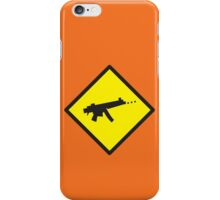 Beware Digital GAMER crossing design iPhone Case/Skin