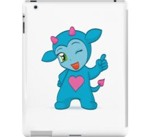 Cartoon chibi imp iPad Case/Skin
