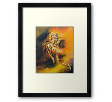 She Asunder Framed Print