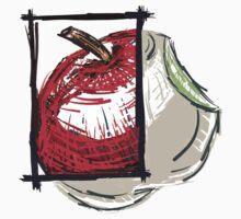 Artistic Apple Design Impression by Donovanvanstade