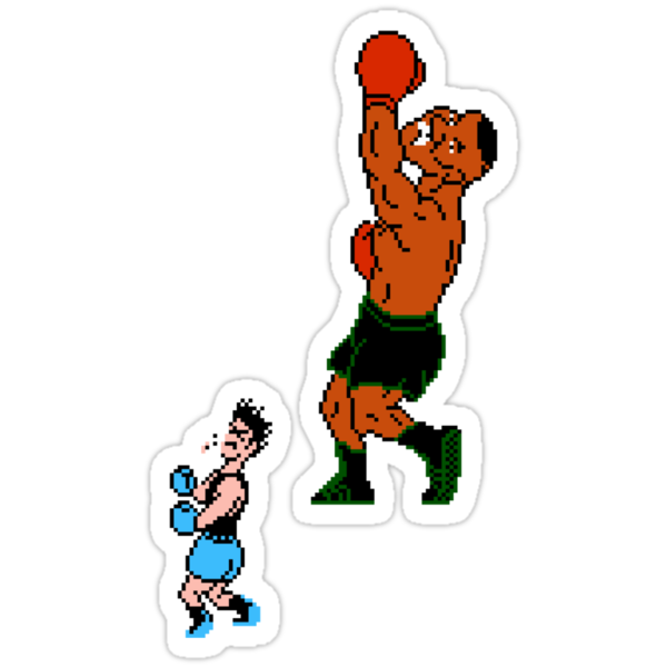 Mike Tyson's Punch Out Dynamite Uppercut by Bob Buel