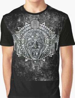 Aztec Dark Angel Don't Blink Pencils sketch Art Graphic T-Shirt