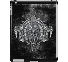 Aztec Dark Angel Don't Blink Pencils sketch Art iPad Case/Skin