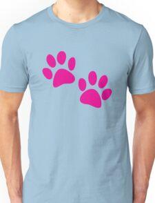 Cute kitty cat paws Unisex T-Shirt