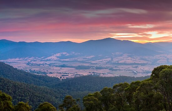 Valley of Smoke by Mark  Lucey