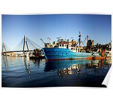 Sydney Fishing Trawler Poster
