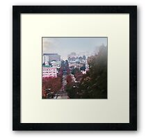 Webster Street  Framed Print