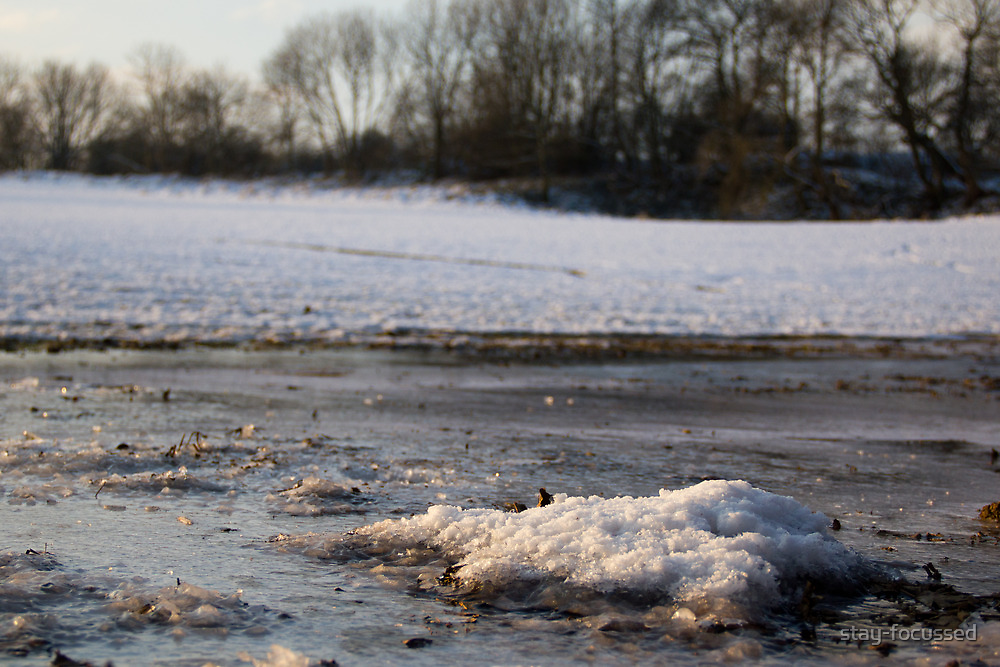 Ice in a farmers field by stay-focussed