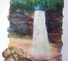 Hardraw Force, Yorkshire by Susan Duffey