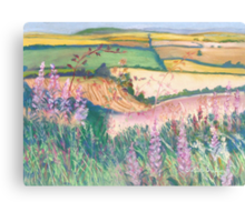 Godmanstone Hillside Canvas Print