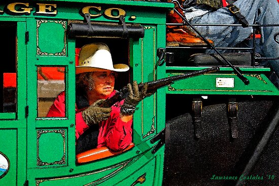 Grandma Riding Shotgun by Larry3