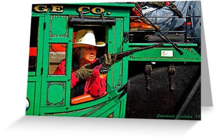Grandma Riding Shotgun by Larry3