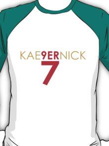 KAE9ERNICK 7 - QB #7 Colin Kaepernick of the San Francisco 49ers T-Shirt