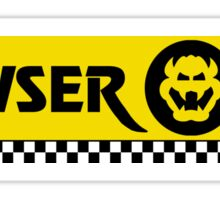 Mario Kart 8 Boswer Oil Sticker
