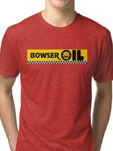 Mario Kart 8 Boswer Oil Tri-blend T-Shirt