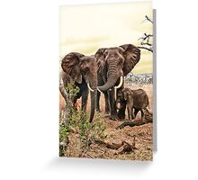 Family bond Greeting Card