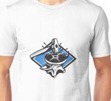 Sledgehammer Striking 45lb Weight Anvil Retro Unisex T-Shirt