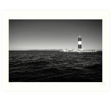 Sea lighter Art Print