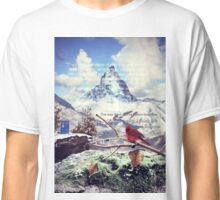 Doctor Who - How Many Seconds in Eternity? (Helluva Bird Quote) Classic T-Shirt