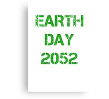 Earth Day 2052 Canvas Print