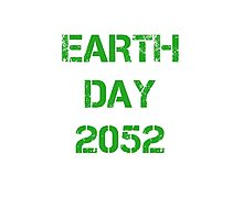Earth Day 2052 Photographic Print