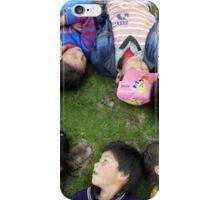 Ladakh children at play iPhone Case/Skin