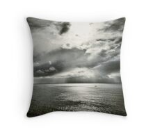 Lisbon CoastLine Throw Pillow