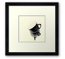 Longing for coffee.... Framed Print