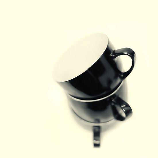 Longing for coffee.... by Bob Daalder