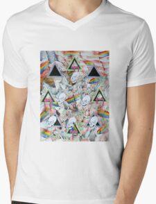 The Circle of Life Mens V-Neck T-Shirt