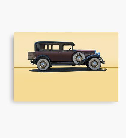 1930 Franklin Airman 145 Deluxe Sedan w/o ID Canvas Print