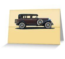 1930 Franklin Airman 145 Deluxe Sedan w/o ID Greeting Card