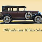 1930 Franklin Airman 145 Deluxe Sedan w/ ID by DaveKoontz