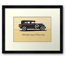 1930 Franklin Airman 145 Deluxe Sedan w/ ID Framed Print