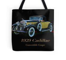 1929 Cadillac Convertible Coupe Tote Bag