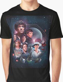 Blake's 7 Series 2 Montage Graphic T-Shirt