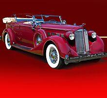 1937 Packard Dual Cowl Phaeton w/o ID by DaveKoontz