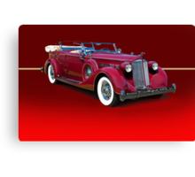 1937 Packard Dual Cowl Phaeton w/o ID Canvas Print