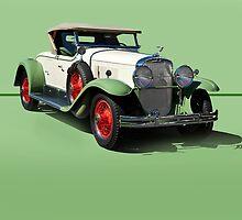 1929 Cadillac 341B Convertible V8 w/o ID by DaveKoontz