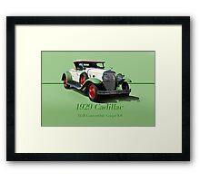 1929 Cadillac 341B Convertible V8 w/ID Framed Print