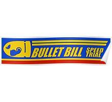 Mario Kart 8 Bullet Bill Poster