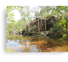 'UMBRAWARRA GORGE! near Pine Creek, N.T. Australia. Canvas Print